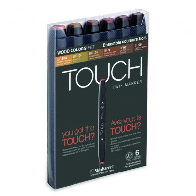 Touch Marker - Twin- Set de...